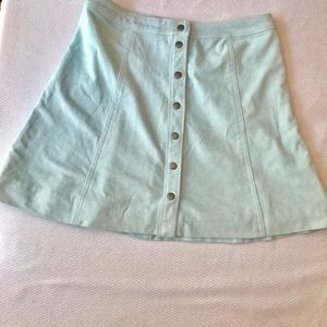 Abercrombie faux suede a line  8 never worn w tags